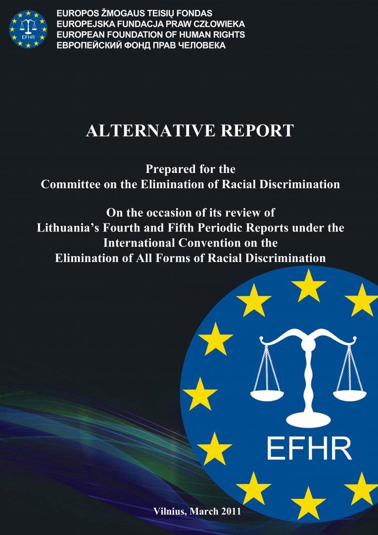 Raport alternatywny przygotowany dla Komitetu ds. Likwidacji Dyskryminacji Rasowej