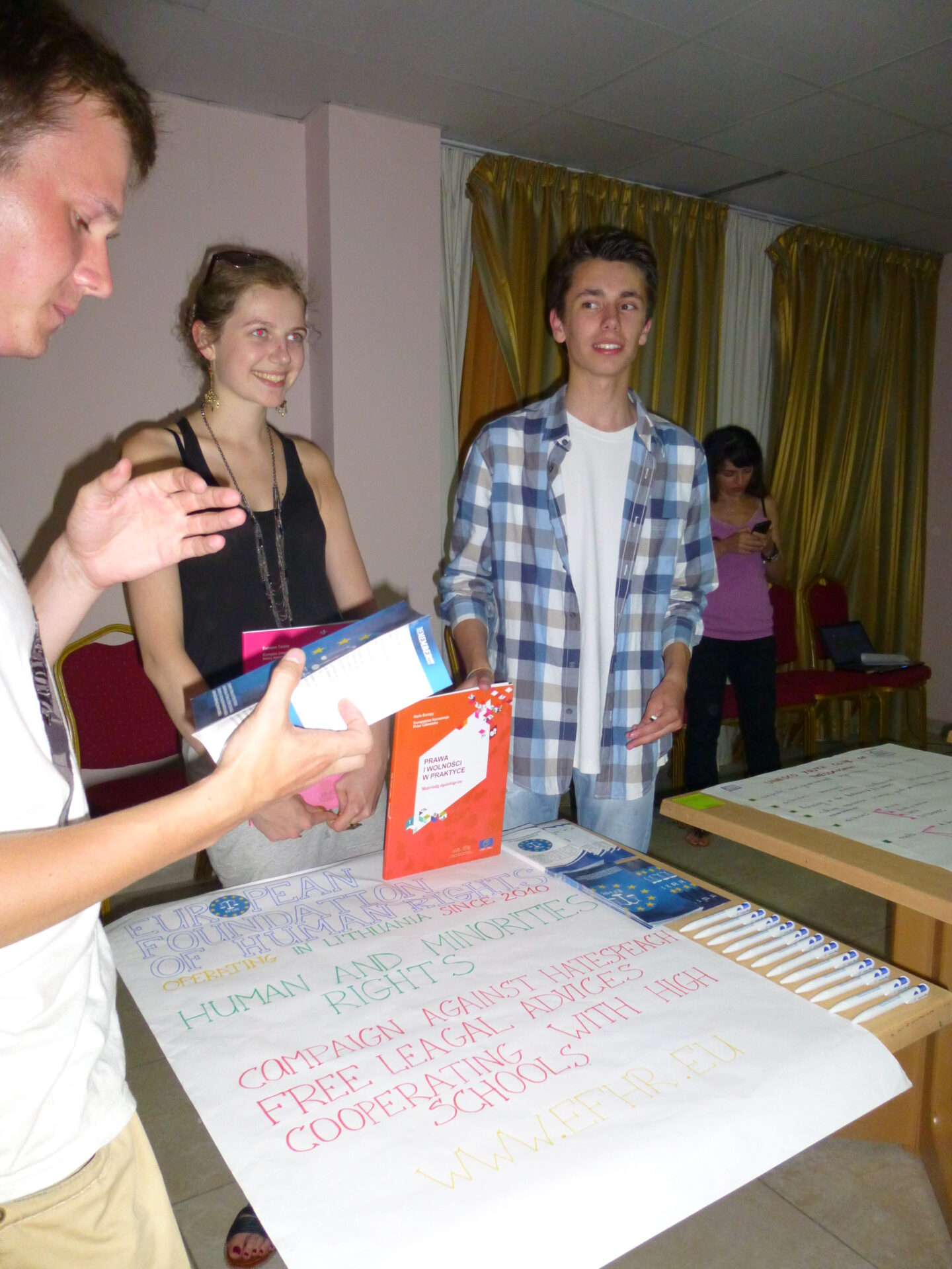 Europejska Fundacja Praw Człowieka na projekcie na Cyprze