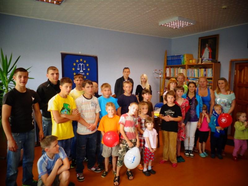 Akcje charytatywne EFHR w Domach Dziecka
