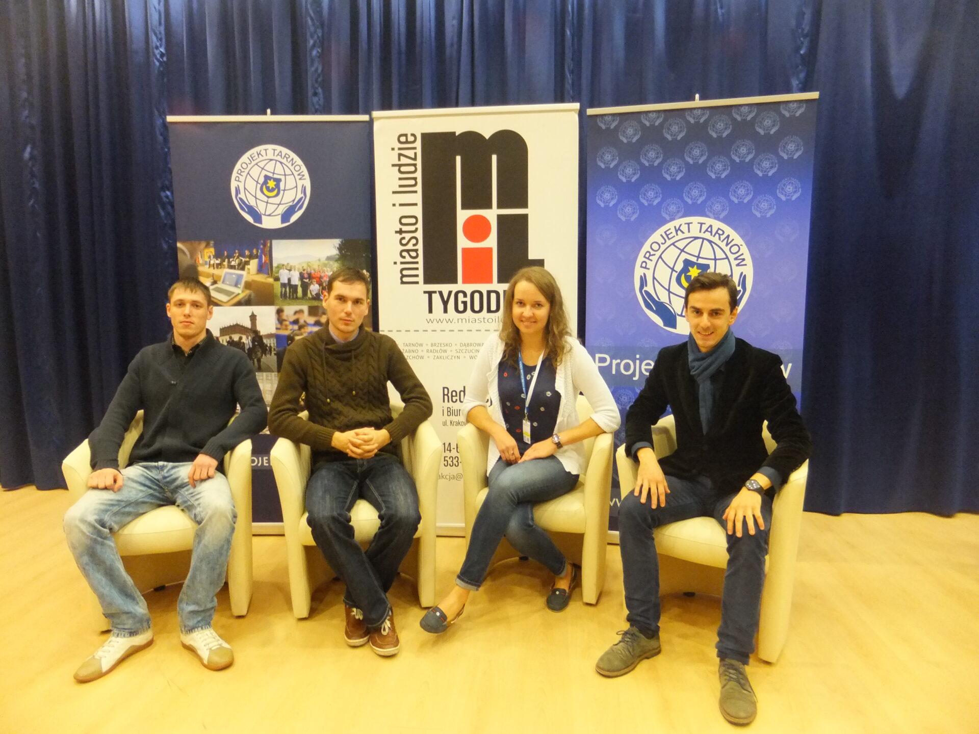 Relacje z Central Europe Youth Forum w Tarnowie