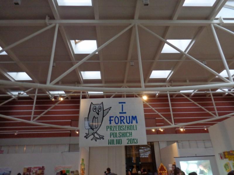 EFHR na I Forum Polskich Przedszkoli miasta Wilna