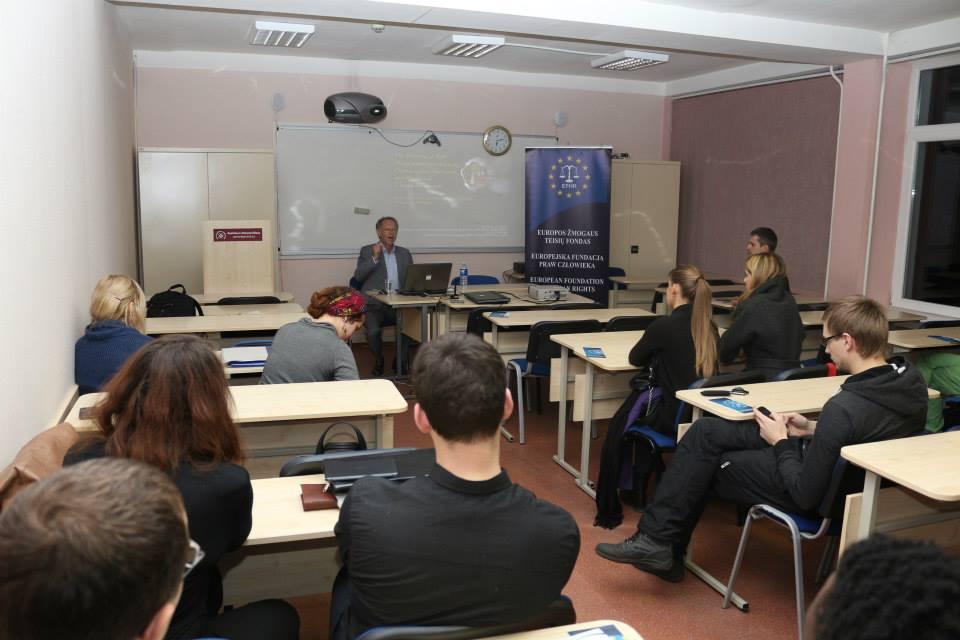 Szkolenia EFHR  z okazji Międzynarodowego Dnia Praw Człowieka