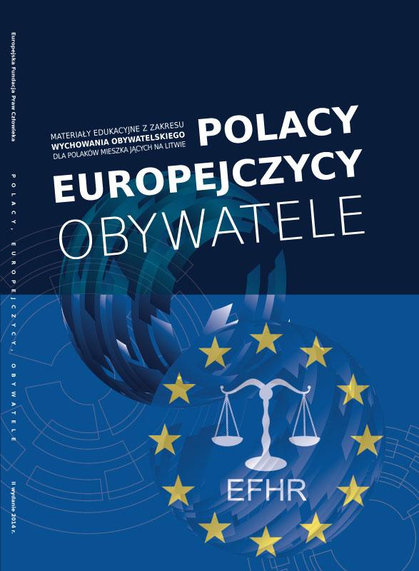 """EFHR zrealizowało najnowsze wydanie podręcznika """"Polacy, Europejczycy, Obywatele""""!"""