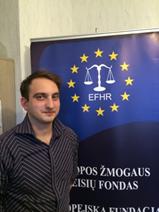 Nowy praktykant w EFHR