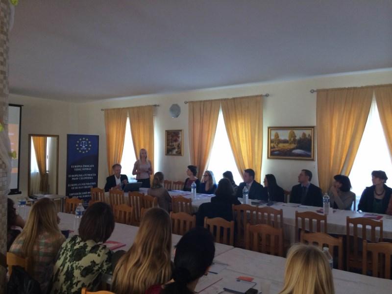 Ogromne zainteresowanie najnowszymi szkoleniami EFHR z zakresu prawa człowieka