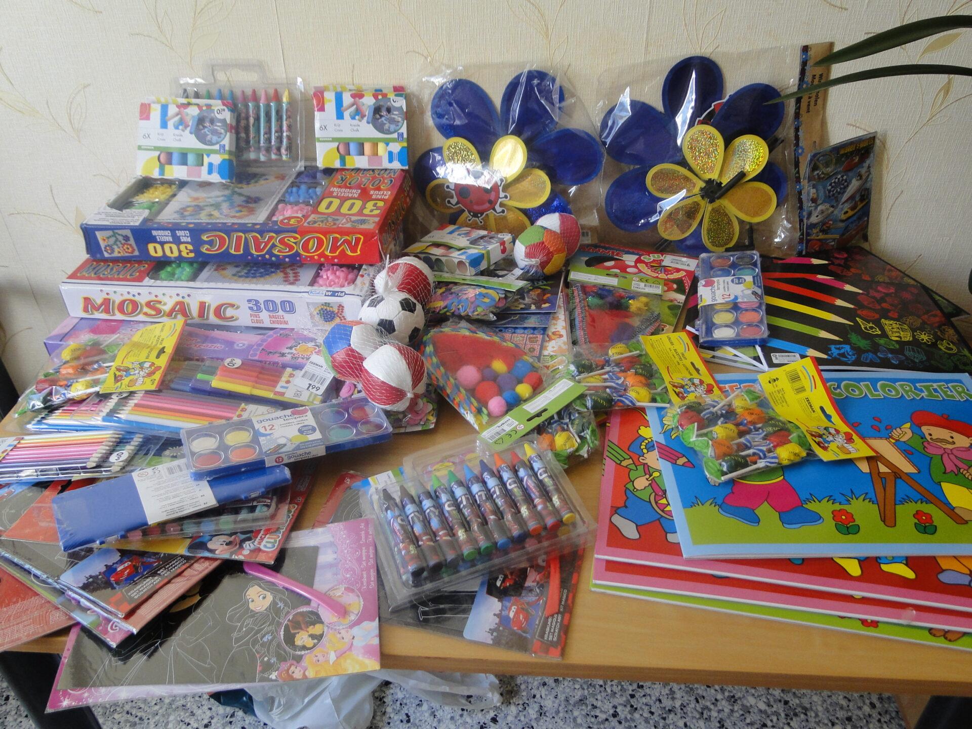 Dary EFHR dla dzieci w domu dziecka w Podbrodziu