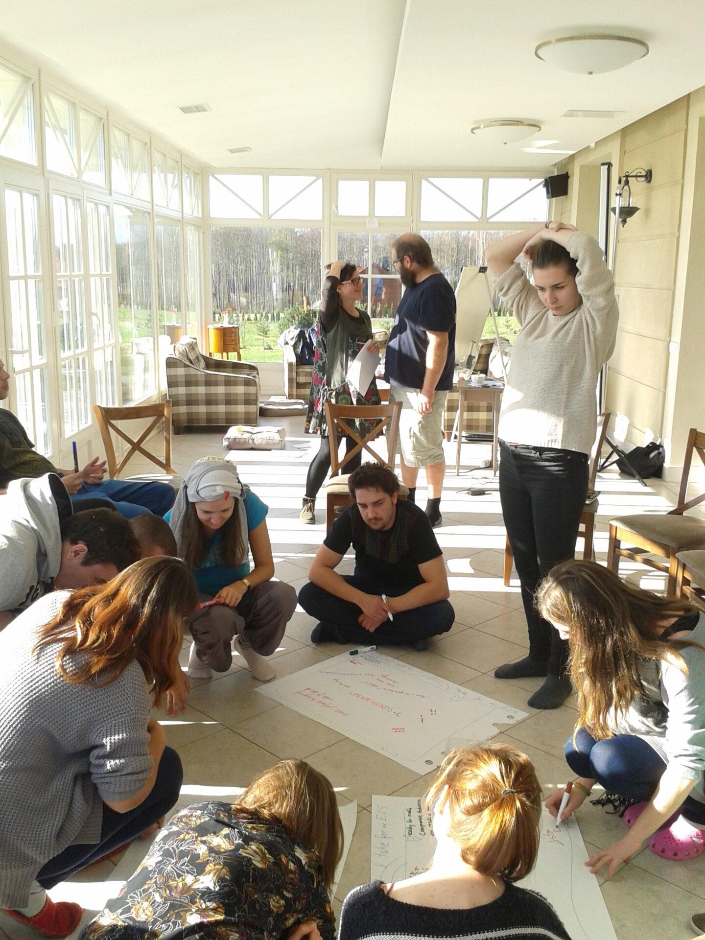 Szkolenie dla nowych wolontariuszy EVS