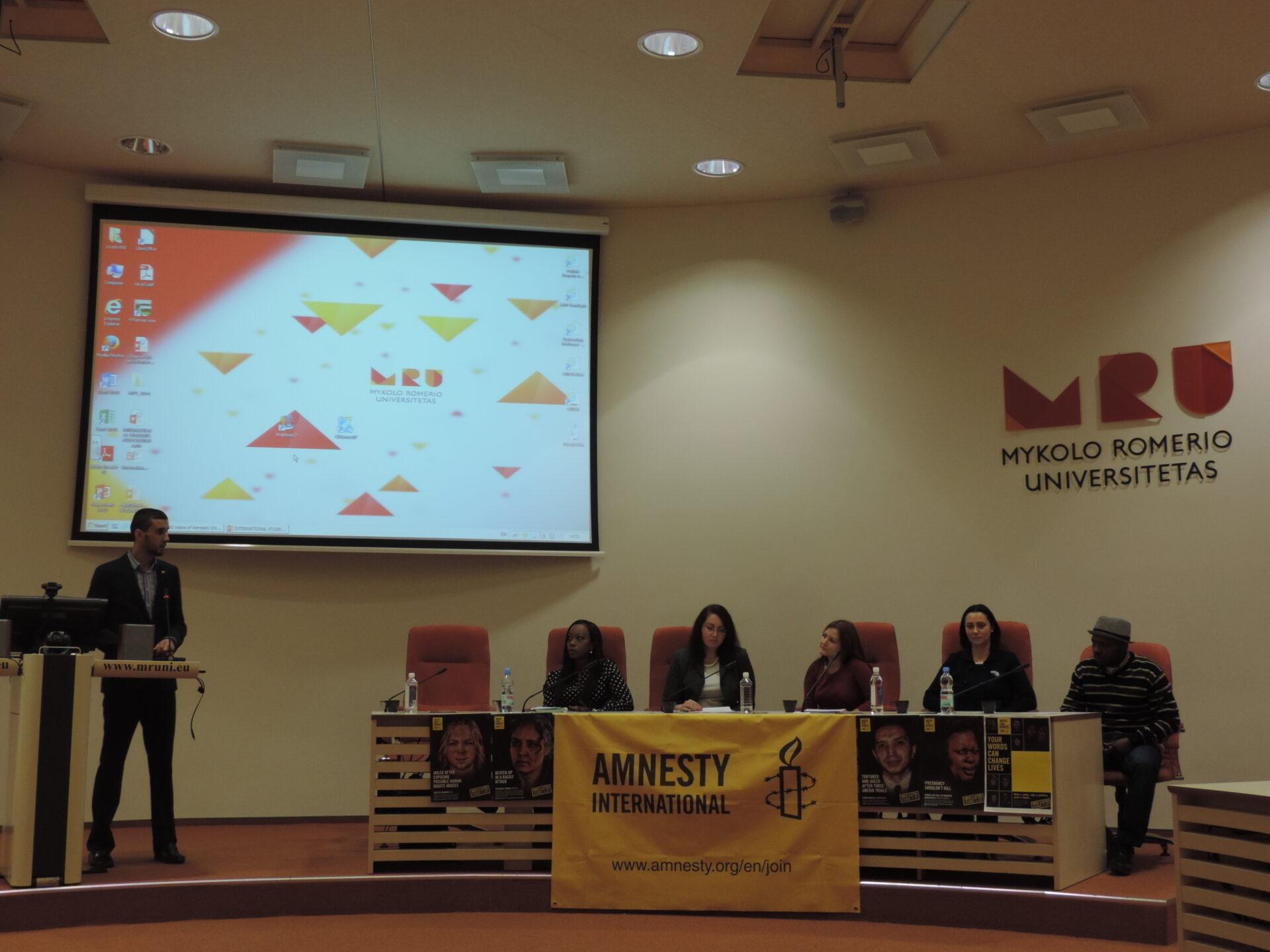 Międzynarodowy Dzień Praw Człowieka na Uniwersytecie M. Romera