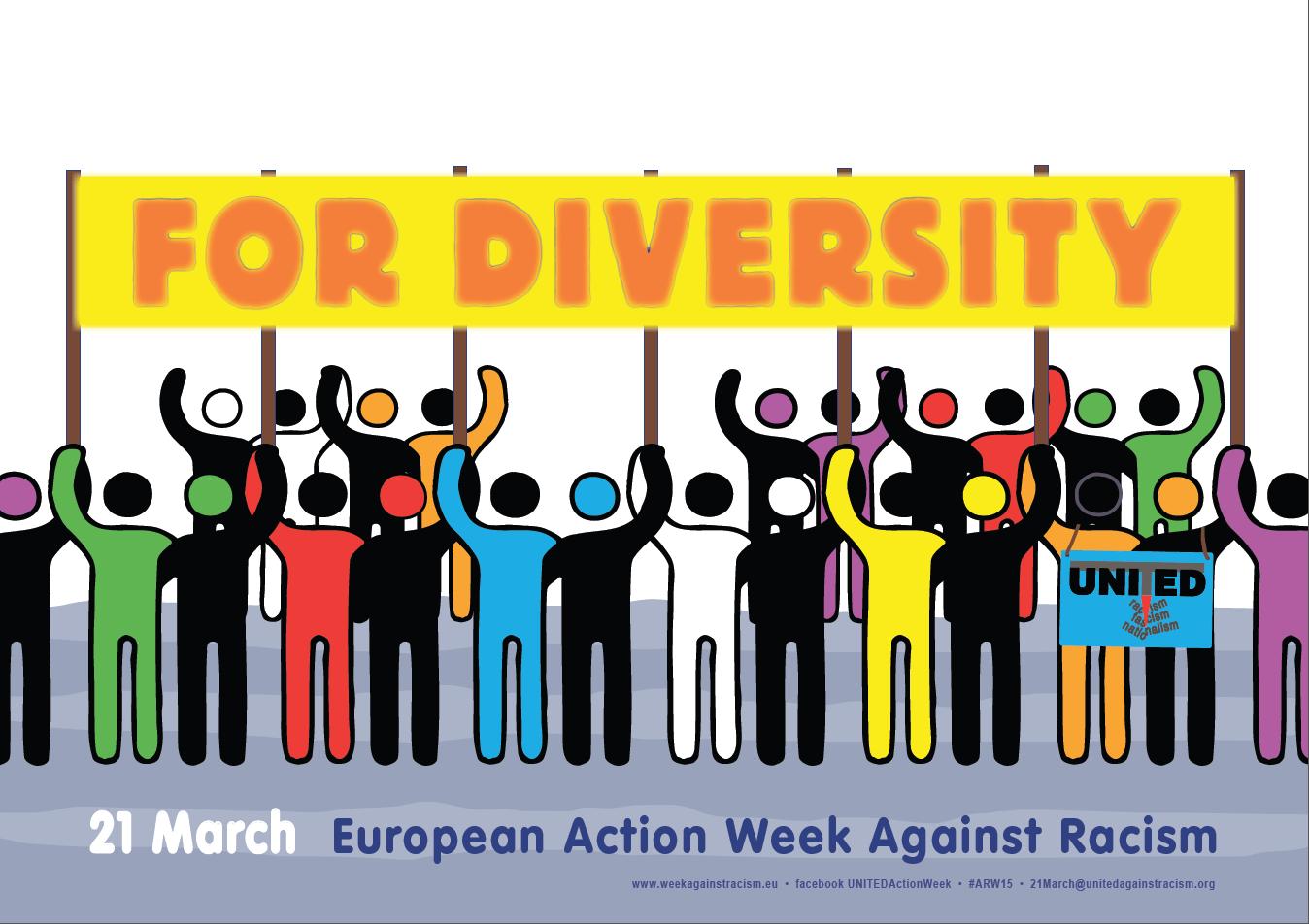 Ogólnoeuropejski tydzień walki z rasizmem – dołącz do nas!