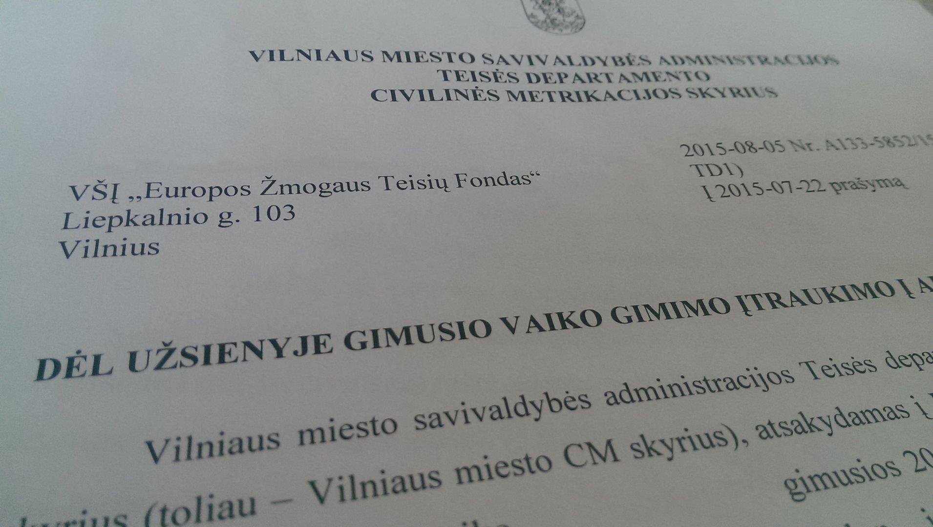 Liberał R. Šimašius – między słowami a działaniem