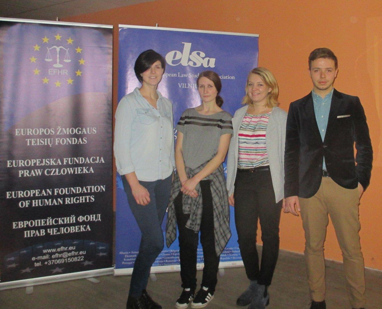 EFHR zorganizowała Międzynarodowy Dzień Walki z Faszyzmem i Antysemityzmem na Uniwersytecie Wileńskim