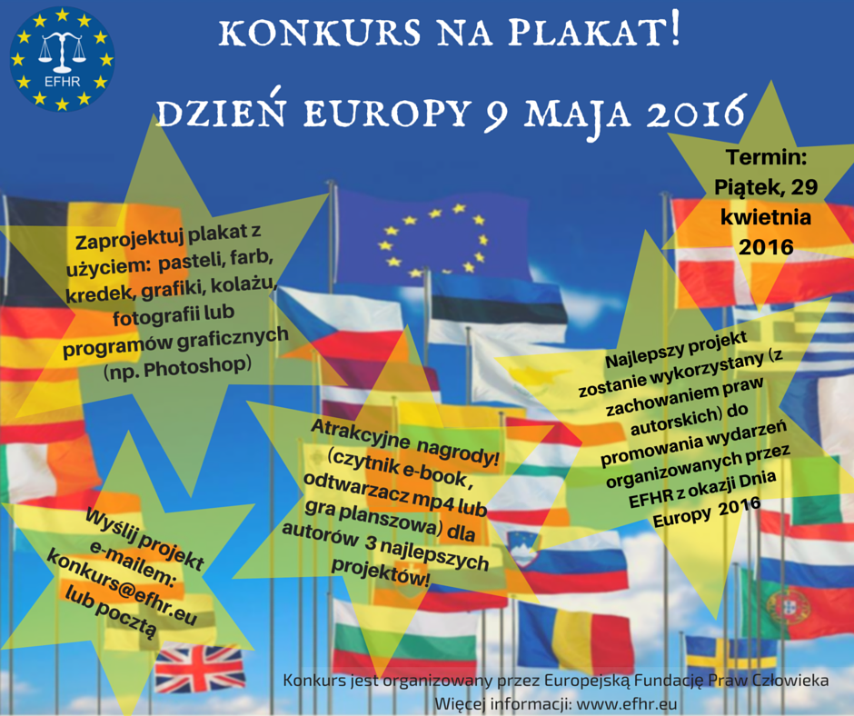 Dzień Europy– Konkurs na plakat