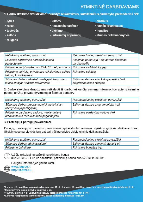 Dyskryminacyjne kryteria rekrutacji pracowników – najnowsze ostrzeżenia dla pracodawców