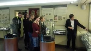 Wizyta EFHR w Muzeum Pieniądza