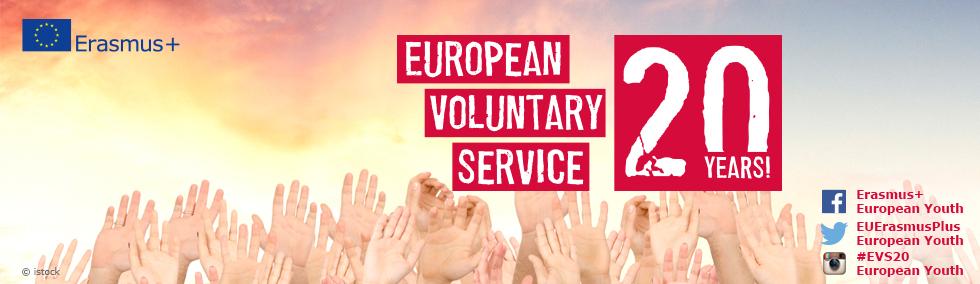 Konkurs EFHR z okazji 20. rocznicy EVS