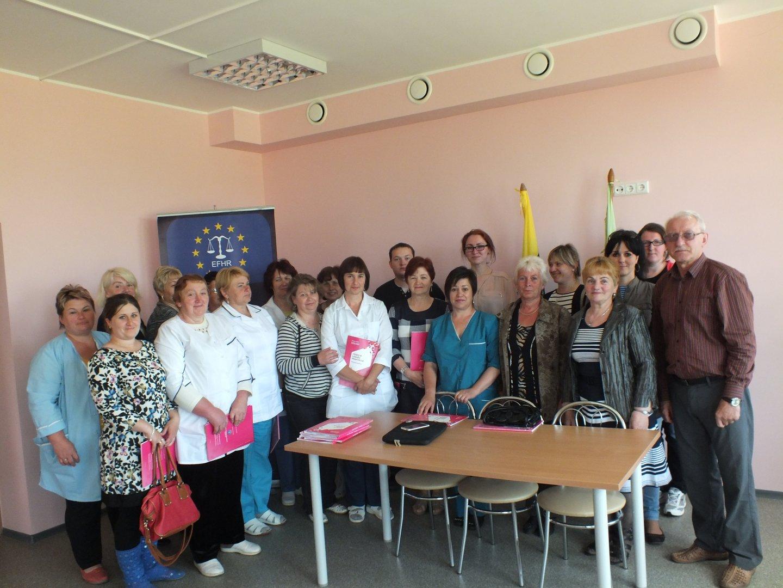 EFHR przeprowadziła szkolenia w domu opieki